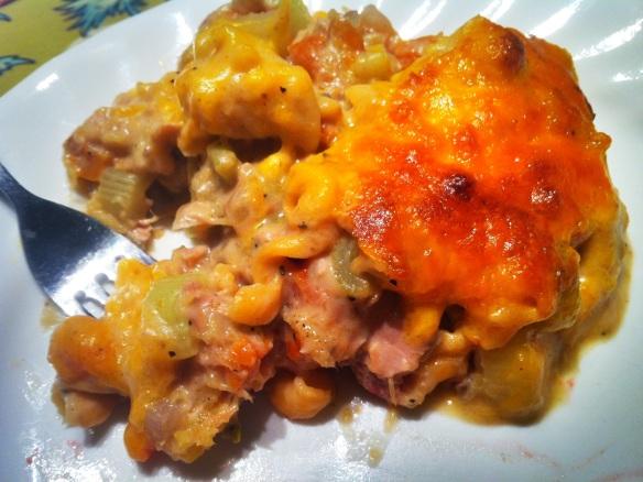 Pumpkin Tuna Casserole