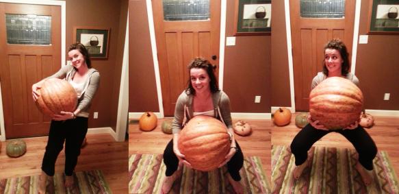 Pumpkin squat