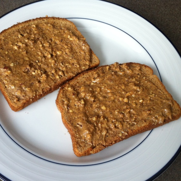 Almond Butter Sandwich