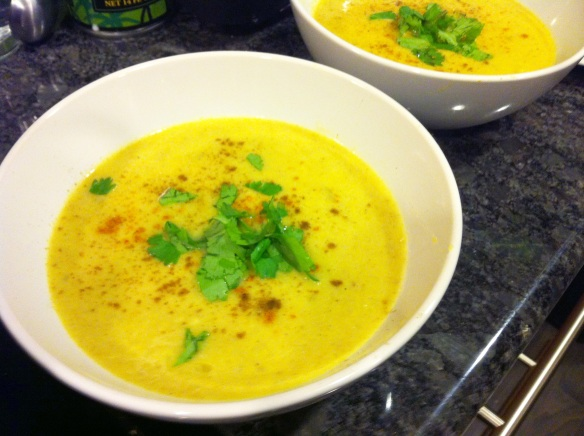 Curry Cauliflower Soup
