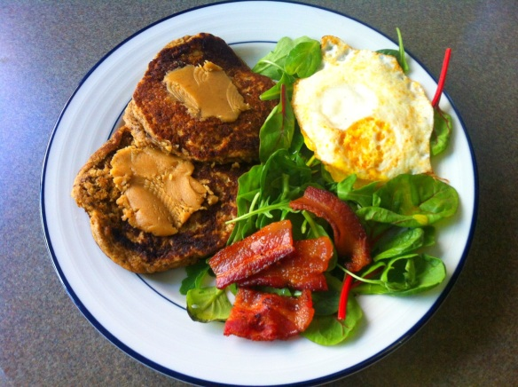 Whole Grain and Nut Pancakes
