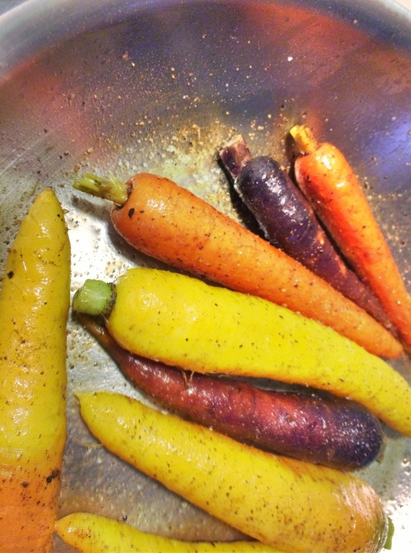 Nutmeg Carrots